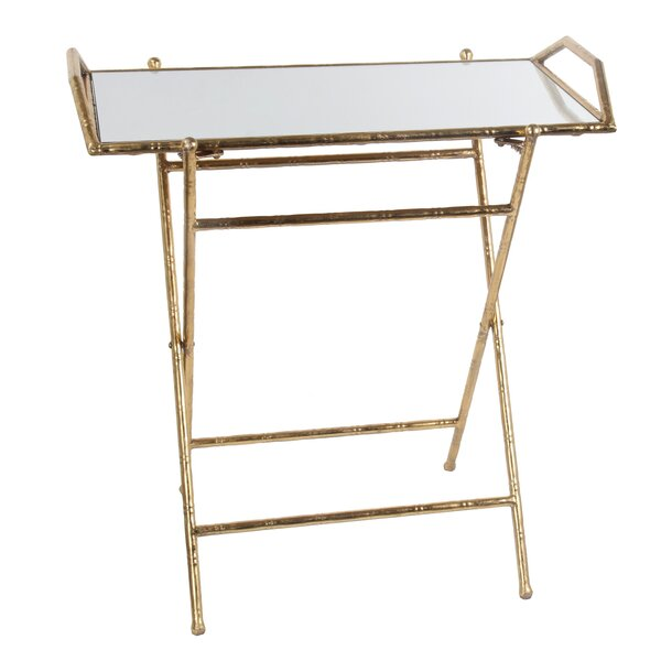 Basilio Folding Tray Table by Willa Arlo Interiors