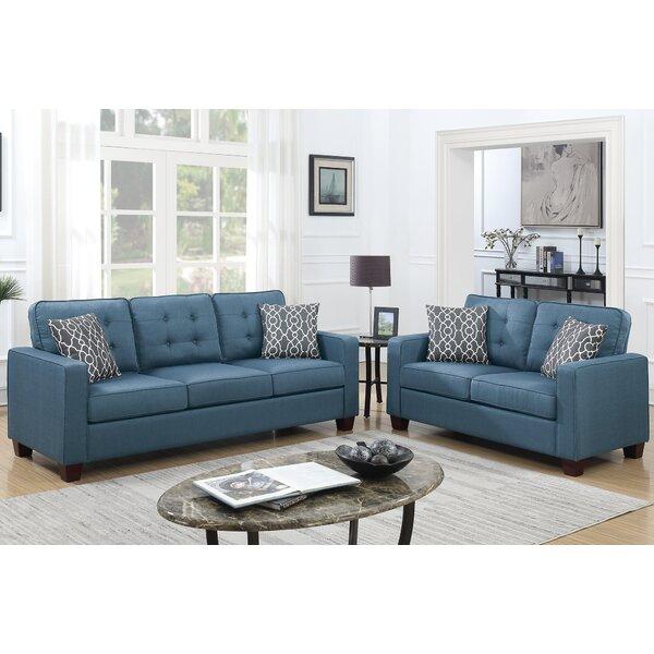 Sylmar 3 Piece Living Room Set by Latitude Run