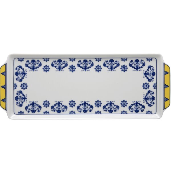 Castelo Branco Tart Tray by Vista Alegre