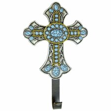 Turquoise Cross Wall Hook by De Leon Collections