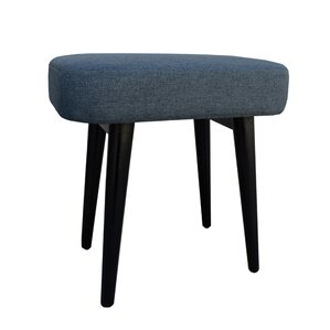nash upholstered vanity stool