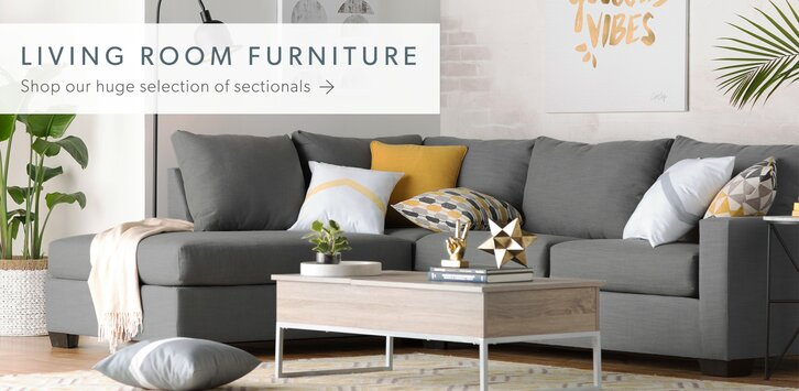 Modern contemporary living room furniture allmodern for New living room furniture