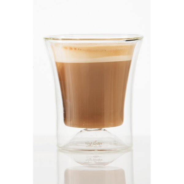 Eurojo Cappuccino 6 oz. Double Wall Glass (Set of 2) by Highwave Inc.