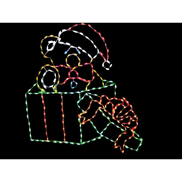 Toy Bear in Gift Box LED Light by Brite Ideas
