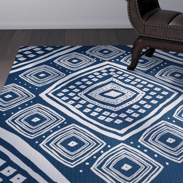Hieu Blue Indoor/Outdoor Area Rug by Bloomsbury Market
