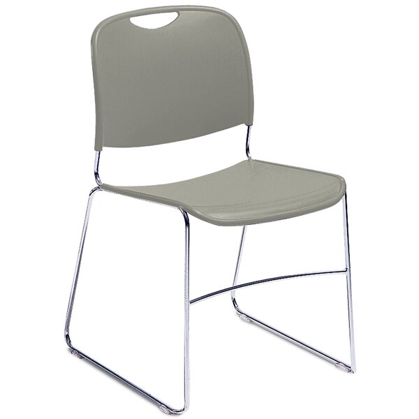 Hi Tech Ultra Compact Armless Stacking Chair by National Public Seating
