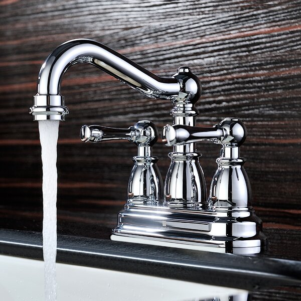 Edge Centerset Bathroom Faucet with Drain Assembly by ANZZI