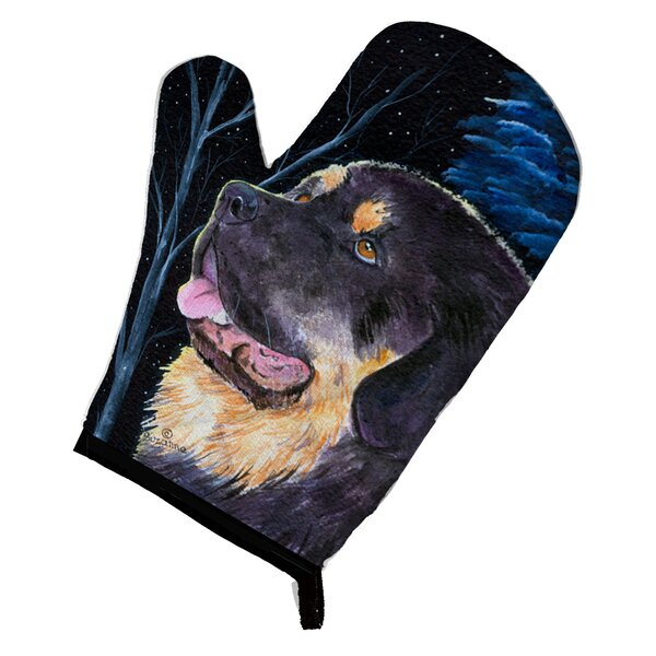 Starry Night Tibetan Mastiff Oven Mitt by Caroline's Treasures