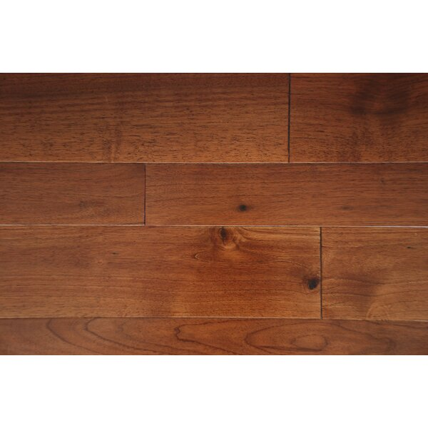 Somerset 7 Solid Walnut Hardwood Flooring in Walnut by Alston Inc.