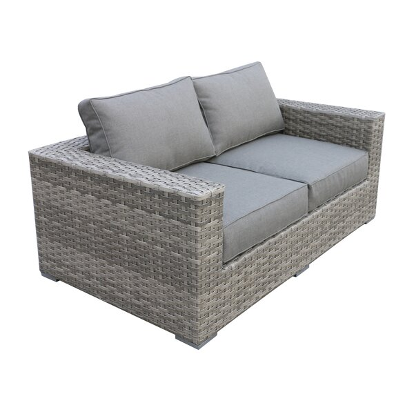 Kaiser Love Seat with Cushion by Brayden Studio