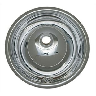 Compare & Buy Decorative Metal Circular Drop-In Bathroom Sink with Overflow ByWhitehaus Collection