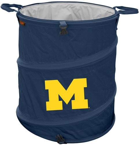 Collegiate Trash Can - Michigan by Logo Brands