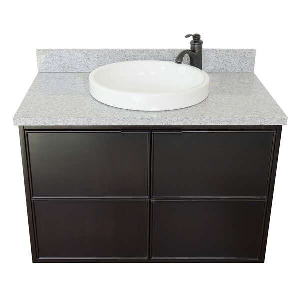Ellison 37 Wall-Mounted Single Bathroom Vanity Set by Gracie Oaks