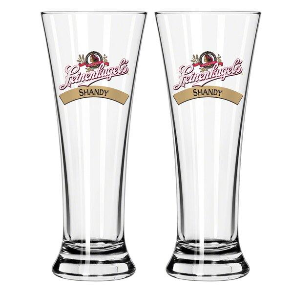 Leinenkugel 16 Oz. Pilsner Glass (Set of 2) by Boelter Brands