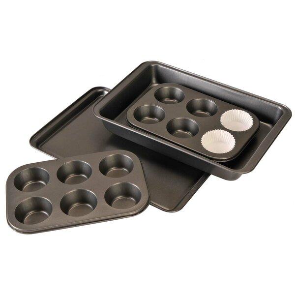 4 Piece Non-Stick Bakeware Set by Euro-Ware