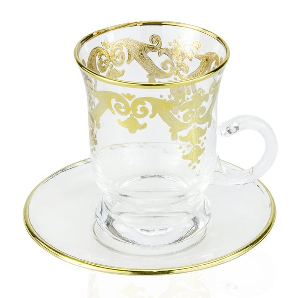 6 oz. Tea Cup (Set of 6) by Classic Touch