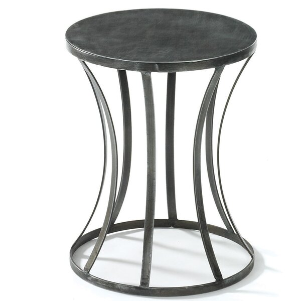 Kyleigh Tin End Table by Ivy Bronx
