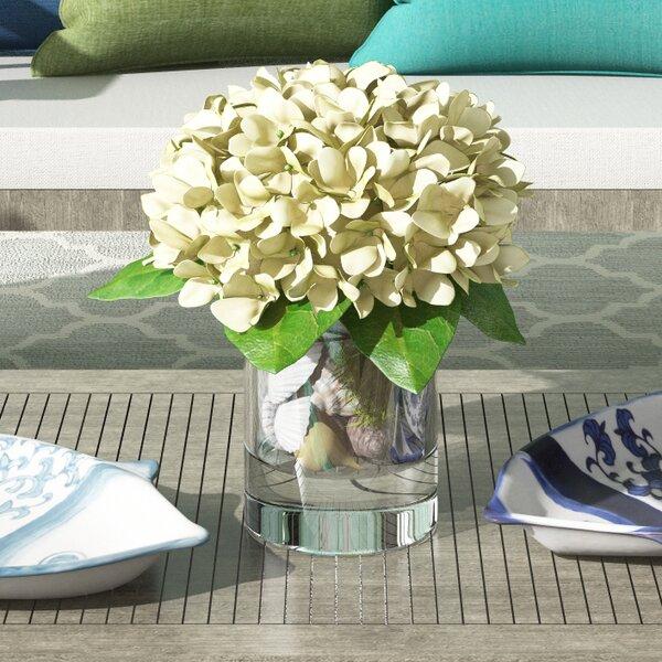 Hydrangea Floral Arrangement by Beachcrest Home