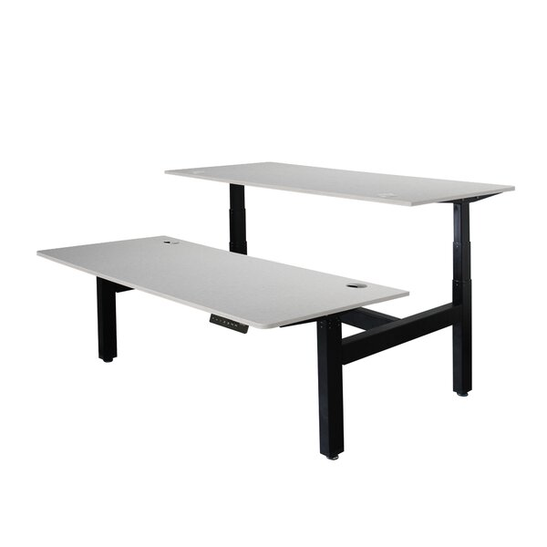 Williamsbridge Electric Height Adjustable Desk by Symple Stuff