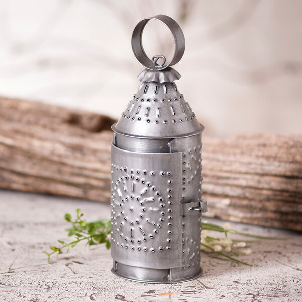 House Metal Lantern by Gracie Oaks