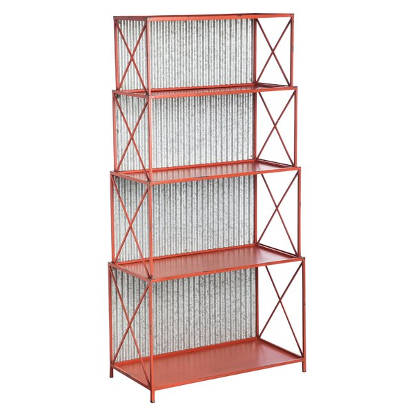 Glenwood Standard Bookcase by 17 Stories