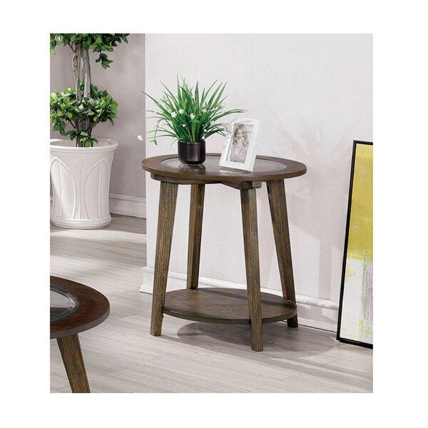 Evia End Table By Brayden Studio