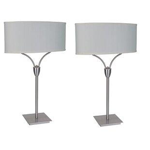 Read Reviews Danyale 28 Table Lamp (Set of 2) By Latitude Run