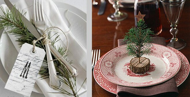 rustic christmas table decorating ideas - Rustic Christmas Table Decorations