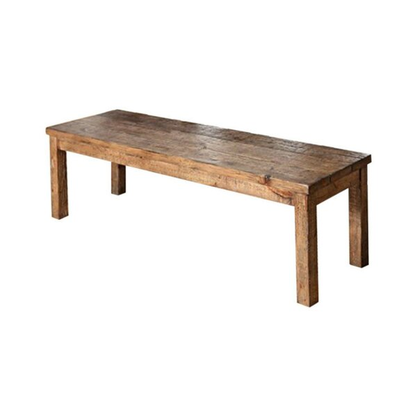 Glenn Old Style Wood Bench by Foundry Select Foundry Select