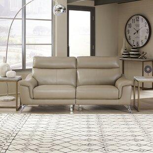 Zurcher Genuine Leather Living Room Set by Orren Ellis