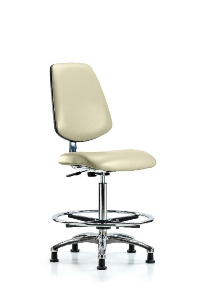 Kendal High Bench Ergonomic Office Chair by Symple Stuff