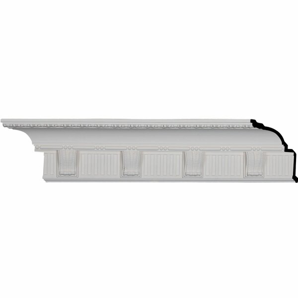 Crendon 6 1/8H x 95 7/8W x 5 3/8D Crown Moulding by Ekena Millwork