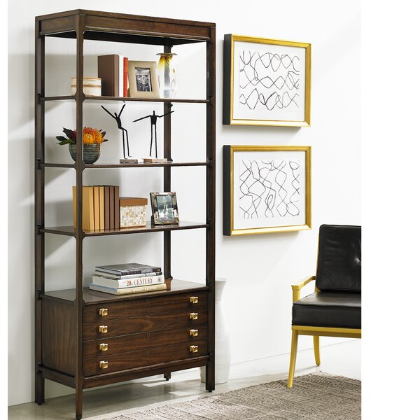 Crestaire Weton Etagere Bookcase by Stanley Furniture