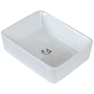 Find Ceramic Rectangular Vessel Bathroom Sink By American Imaginations