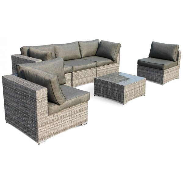 6 Piece Sofa Seating Group with Cushion by StellaHome