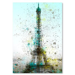 City Art Paris Eiffel Tower Graphic Art by East Urban Home