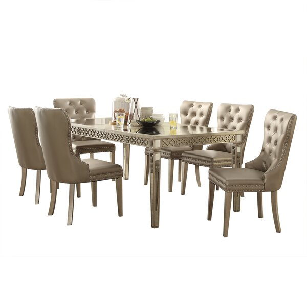 Sandusky 7 Piece Extendable Dining Set by House of Hampton House of Hampton
