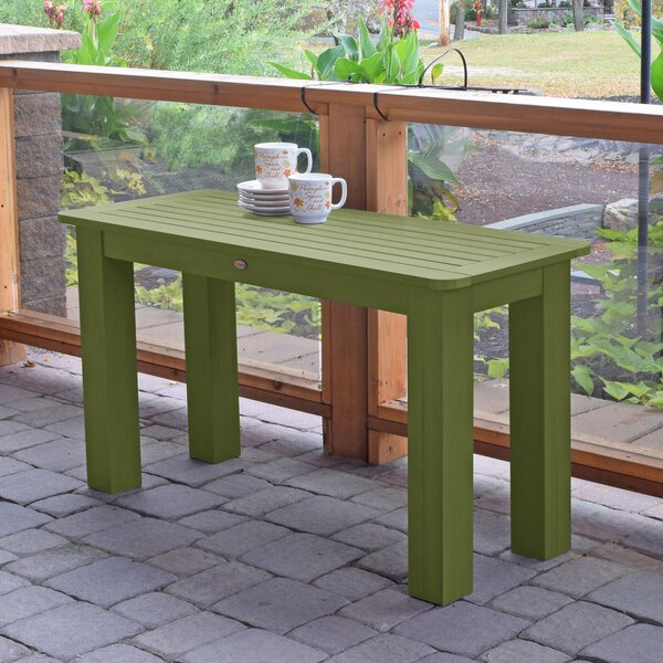 Bouchard Plastic/Resin Dining Table by Longshore Tides