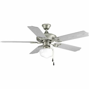 Reviews Castelli 5 Blade Outdoor Ceiling Fan By Highland Dunes
