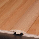 """0.25"""" x 2"""" x 78"""" Red Oak T-Molding in Saddle"""