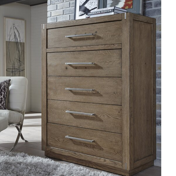 Dakota 5 Drawer Chest by Foundry Select