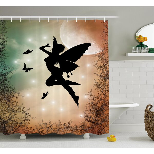 Jimmie Shower Curtain by Zoomie Kids