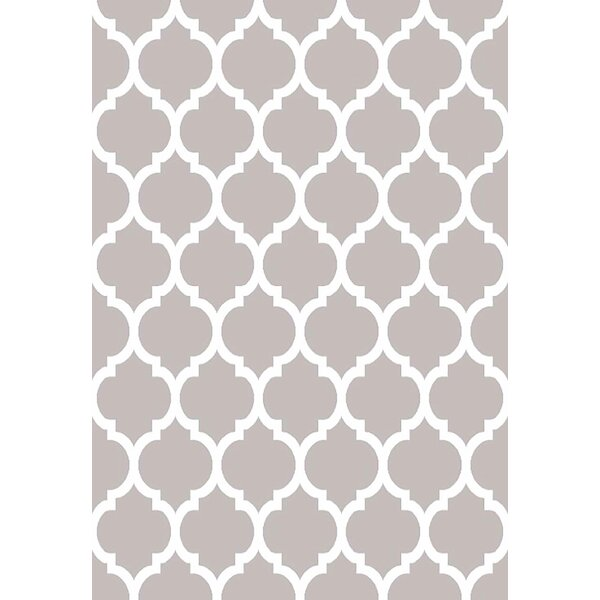 Mccampbell 3D Hand Carved Gray Area Rug by Ivy Bronx