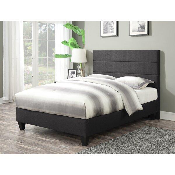 Brunson Upholstered Platform Bed by Latitude Run