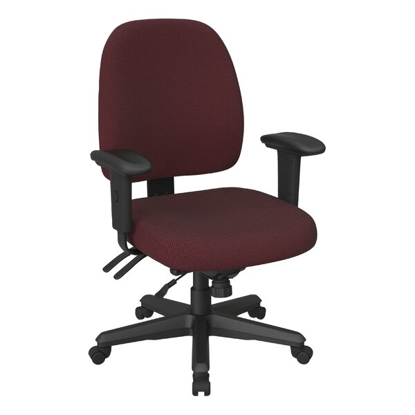 Ergonomic Mid-Back Desk Chair by Office Star Products