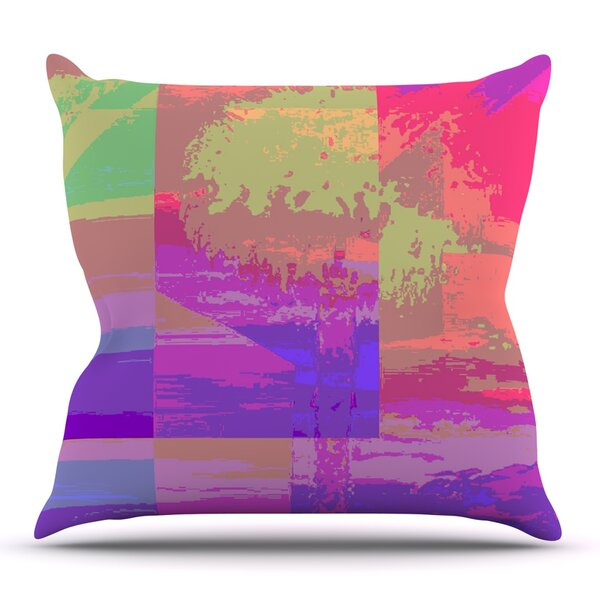 Impermiate Poster by Nina May Outdoor Throw Pillow by East Urban Home