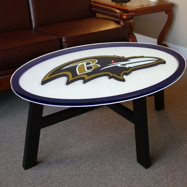Nfl Logo Coffee Table by Fan Creations
