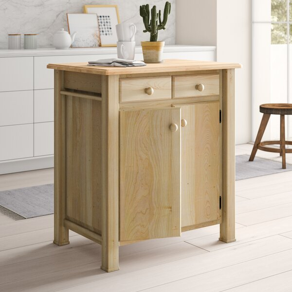 Lynn Kitchen Island by Mistana
