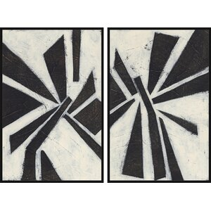 Pinwheel Diptych by Marmont Hill