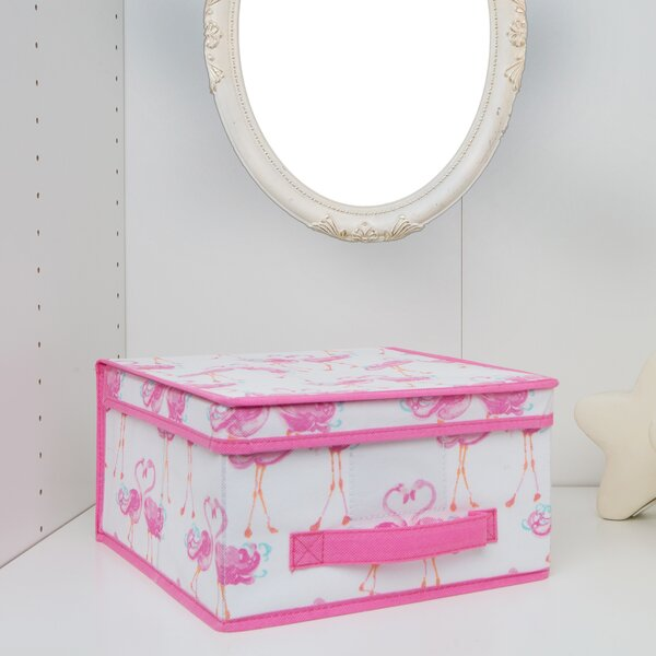 Kids Collapsible Storage Fabric Box by Laura Ashley Home